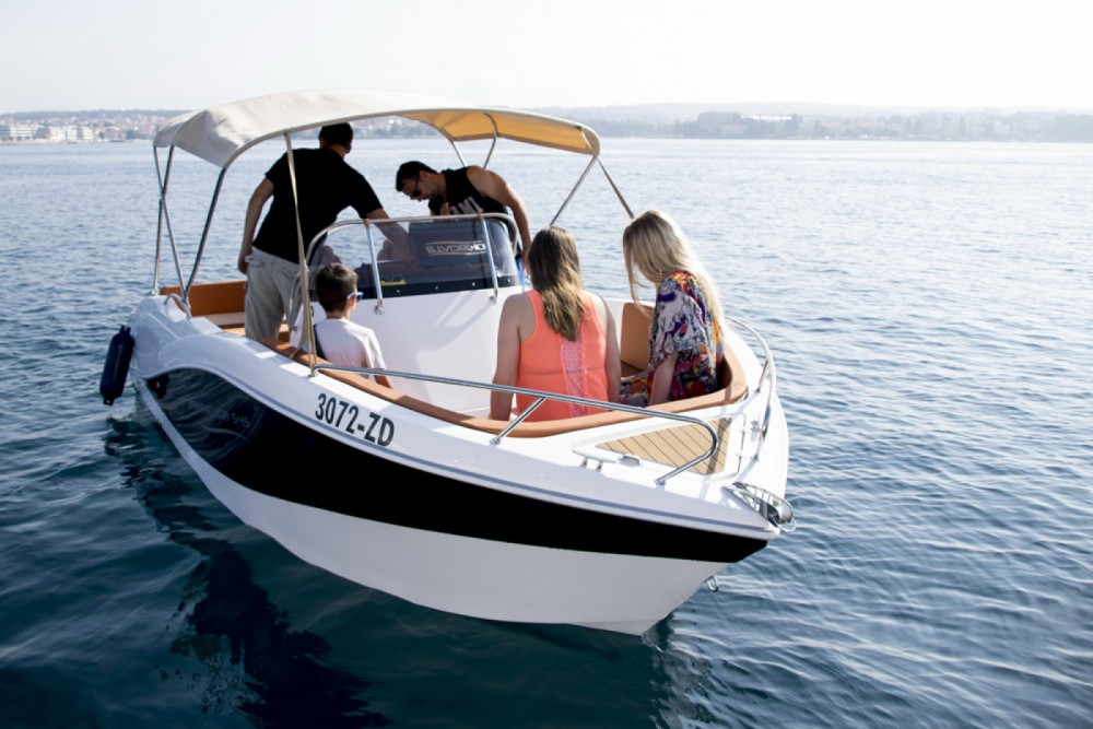 Hire Motorboat with or without skipper Okiboats Grad Zadar