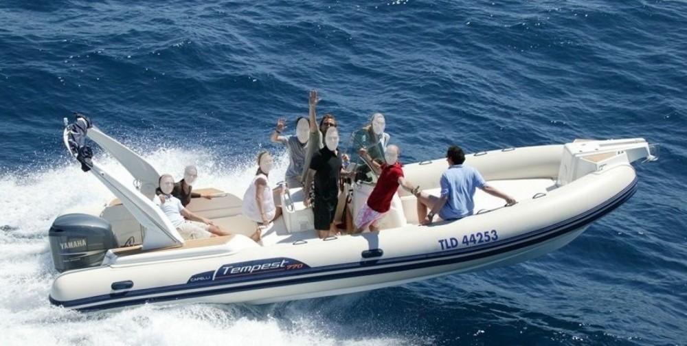 Boat rental Sainte-Maxime cheap Capelli 770