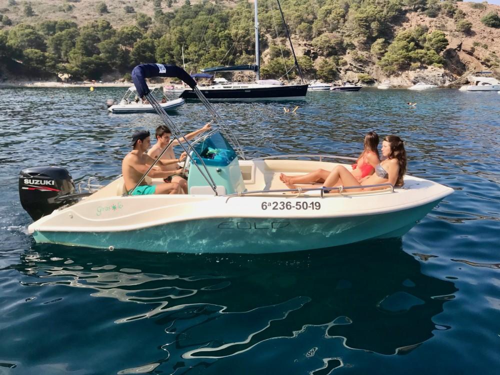 Boat rental Roses cheap girasole