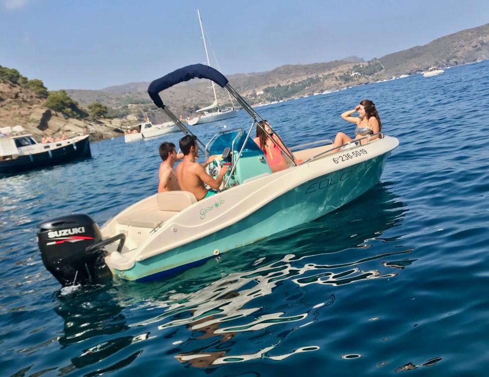 Rental Motorboat in Roses - Eolo girasole