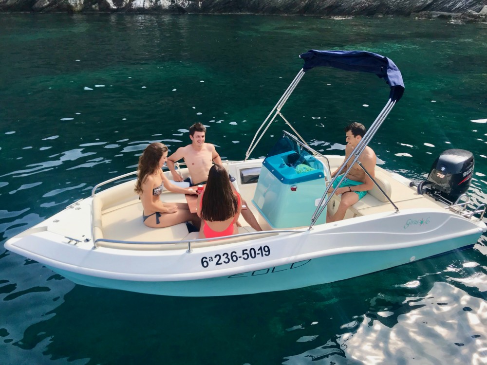 Hire Motorboat with or without skipper Eolo Roses