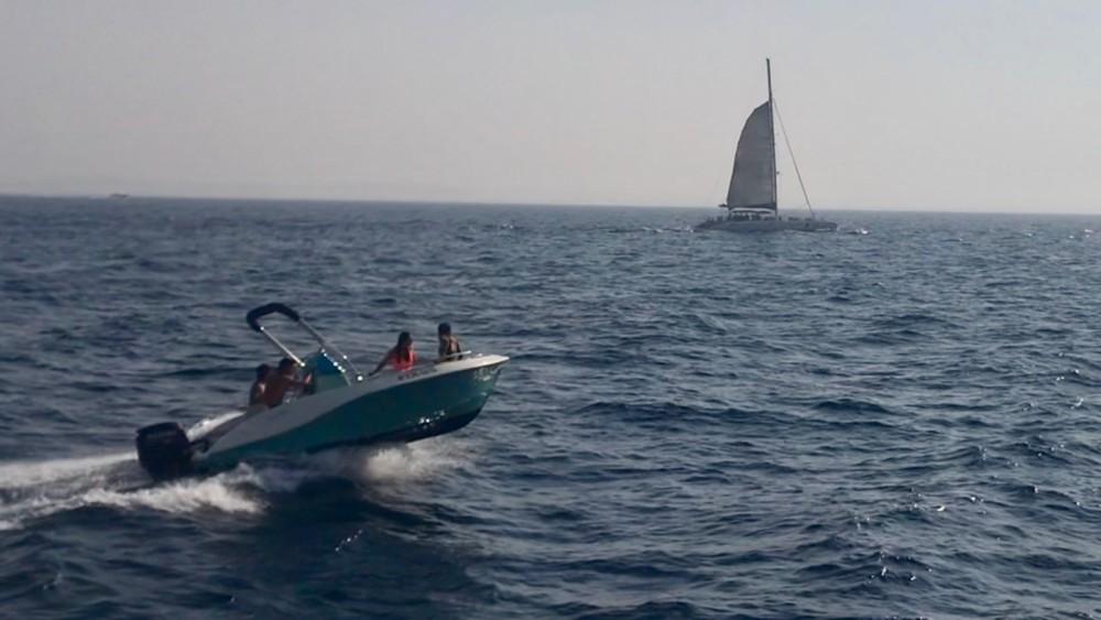 Boat rental Eolo girasole in Roses on Samboat