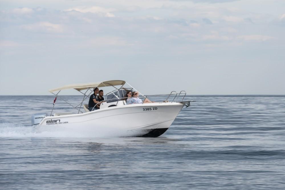 Rental yacht Grad Zadar - Elan Fishing 650 Cabin  on SamBoat