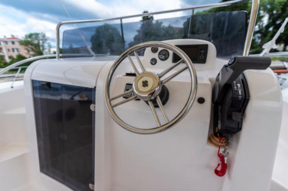 Rental Motorboat Elan with a permit
