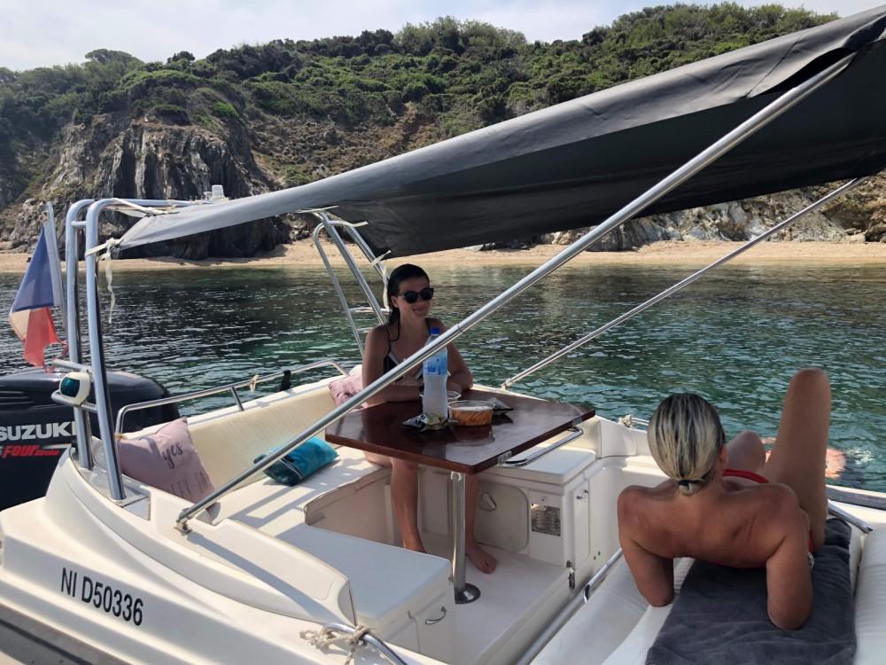 Boat rental Hyères cheap Zar 75 Suite
