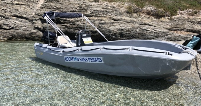 Rental Motorboat Fun Yak with a permit