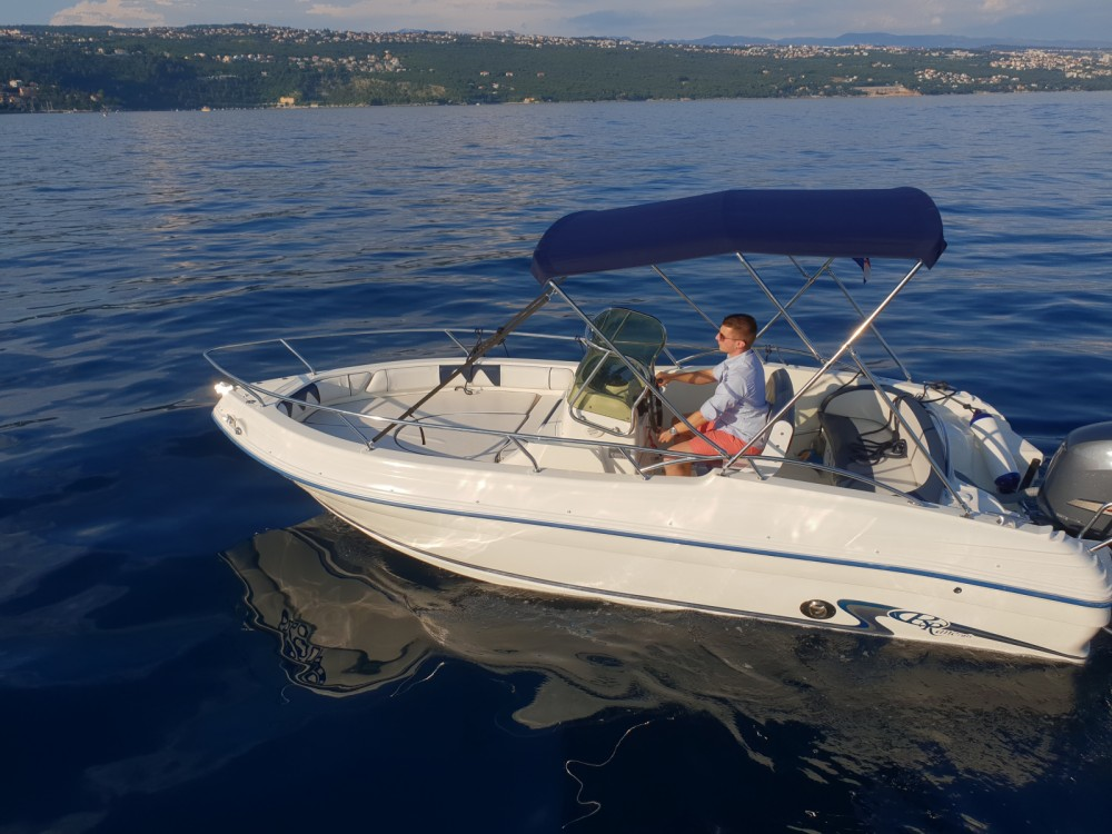Rental Motorboat in Opatija - Rancraft 18.20