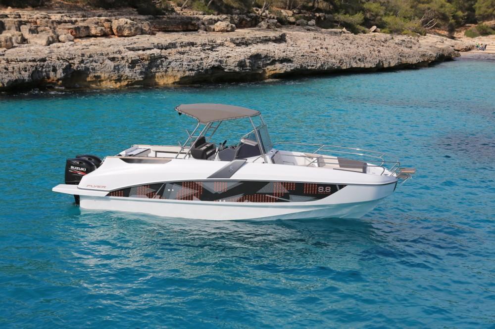 Rental Motorboat in Ajaccio - Bénéteau Flyer 8.8 Space Deck
