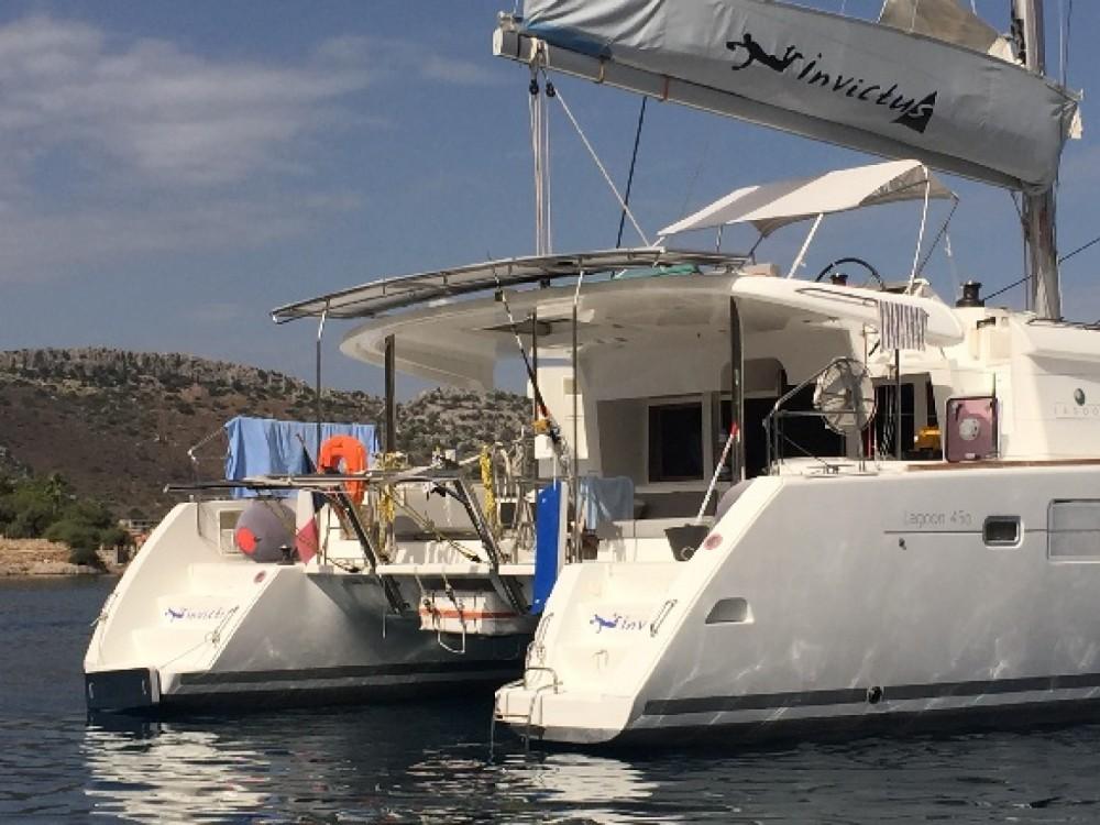 Rental yacht Marseille - Bénéteau Lagoon 450 on SamBoat