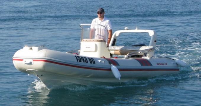 Barracuda 530 between personal and professional Biograd na Moru