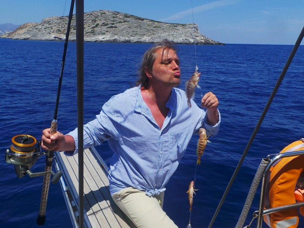 Rental Sailboat in Marína - Dromor Triton 48