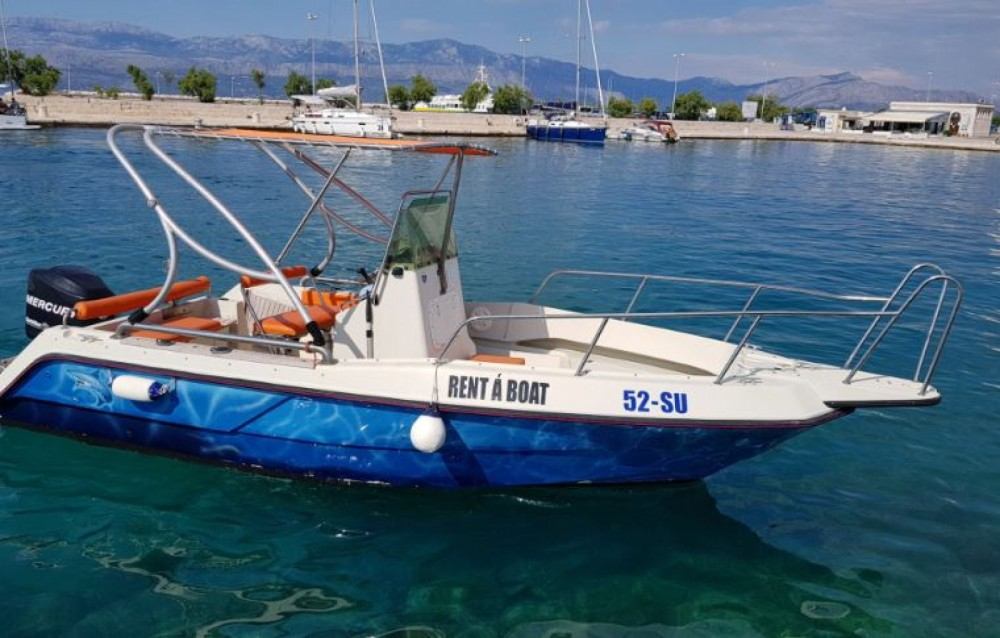 Rent a Elan Fisherman 20 CC Supetar