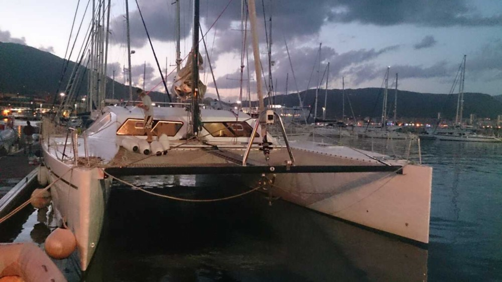 Catamaran for rent Port-Louis at the best price