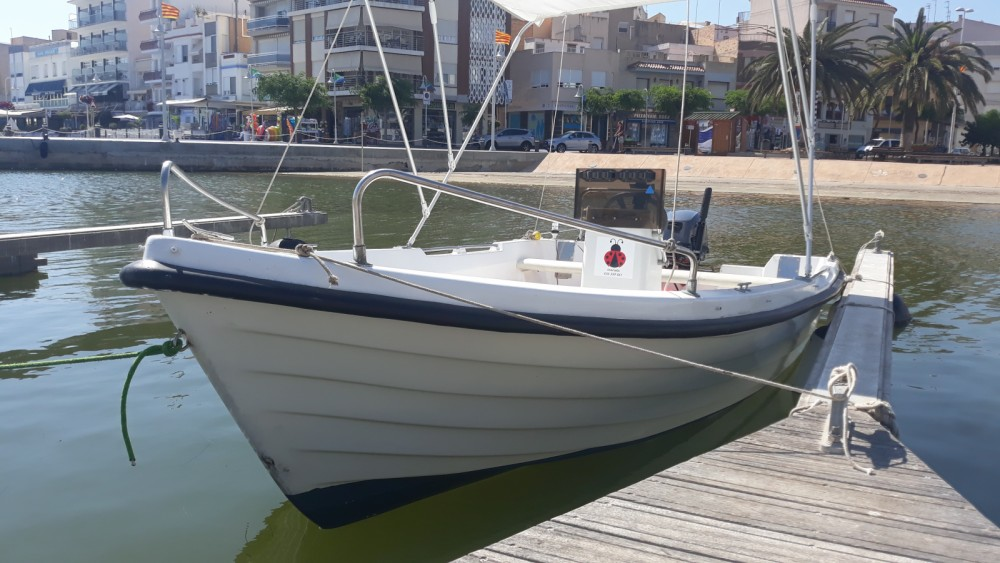 Rental Motorboat Estable with a permit