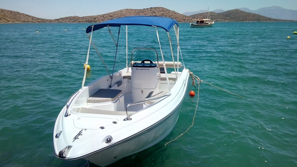 Rental Motorboat in Elounda - Olympic SX 490