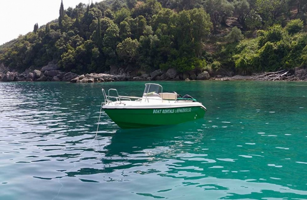 Poseidon Bluewater 480 between personal and professional Parga