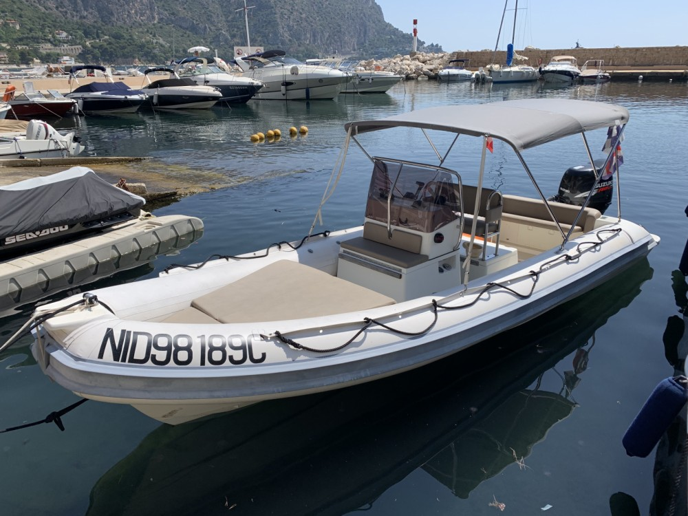 RIB for rent Beaulieu-sur-Mer at the best price
