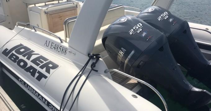 Joker Boat Clubman 28 between personal and professional Porto-Vecchio