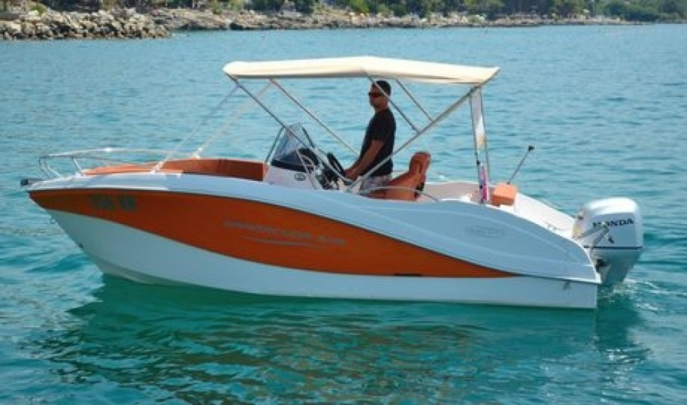 Motorboat for rent Krk at the best price