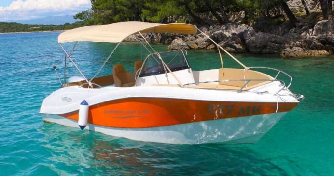 Boat rental Malinska-Dubašnica cheap Barracuda 545 Open