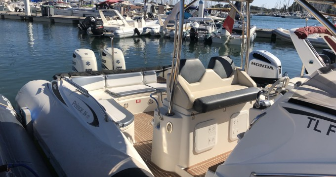 RIB for rent Bandol at the best price