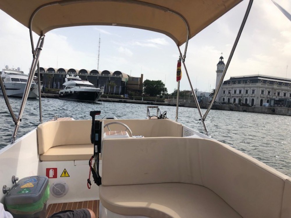 Hire Motorboat with or without skipper Roman Valencian Community