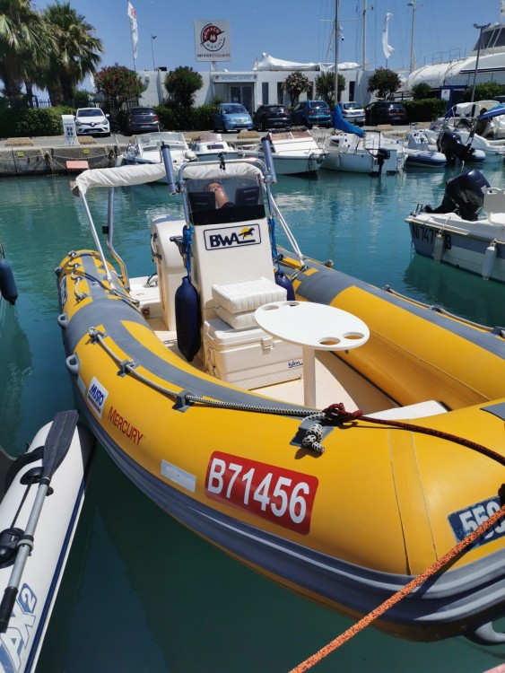 Boat rental Saint-Laurent-du-Var cheap Bwa 550 Pro