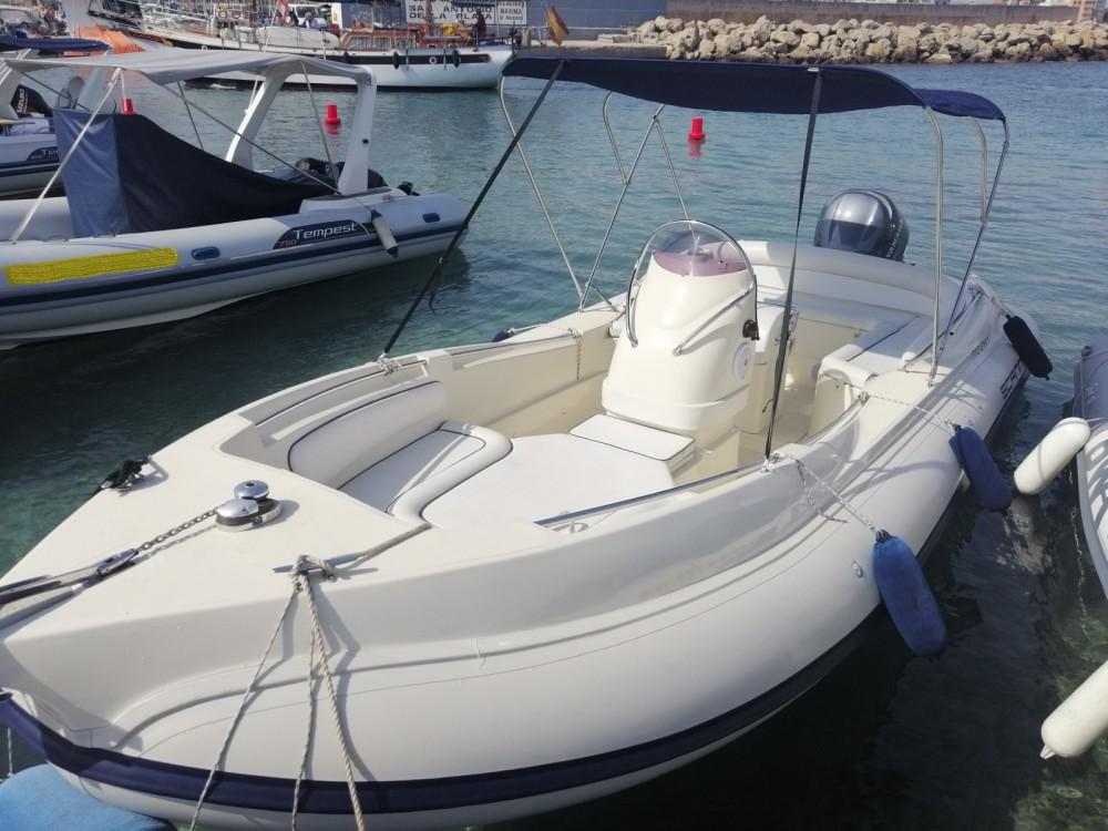 Rental RIB in Palma - Scanner 710 envy