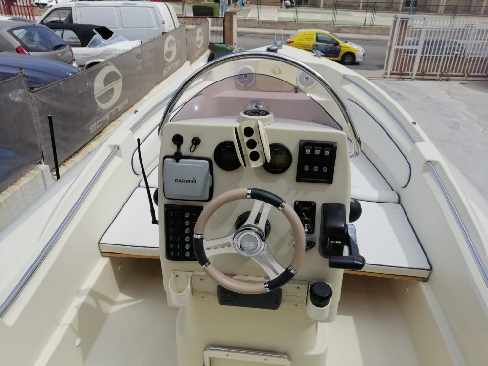 Hire RIB with or without skipper Scanner Palma