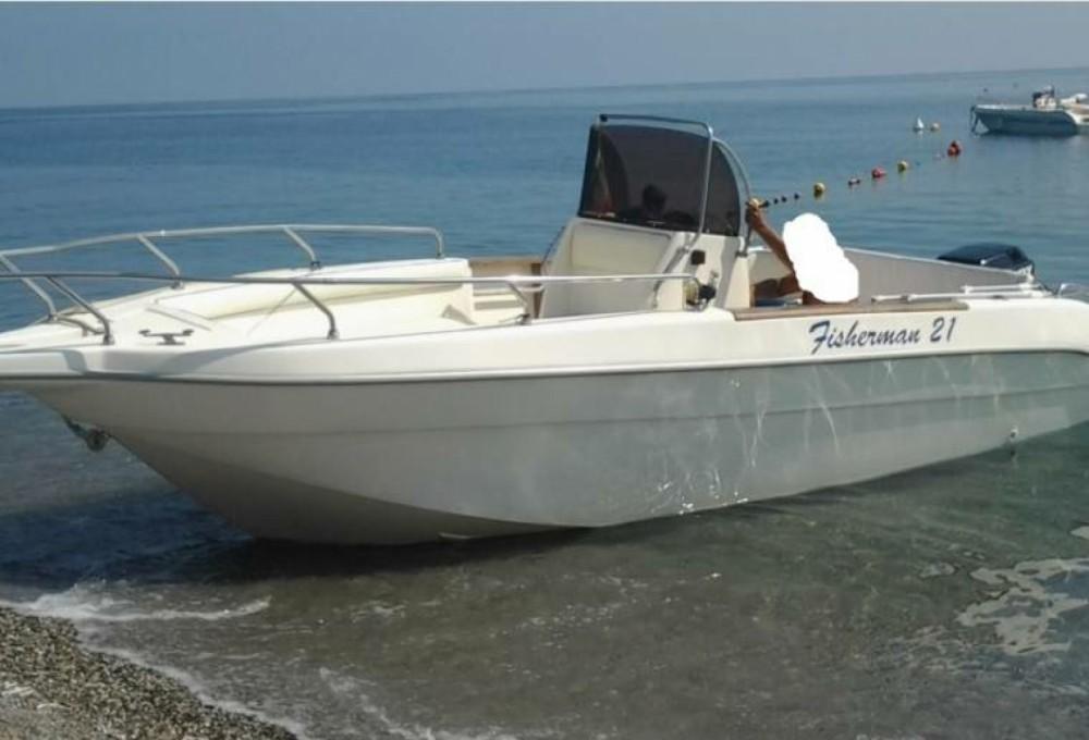 Boat rental Naples cheap Fisherman 21