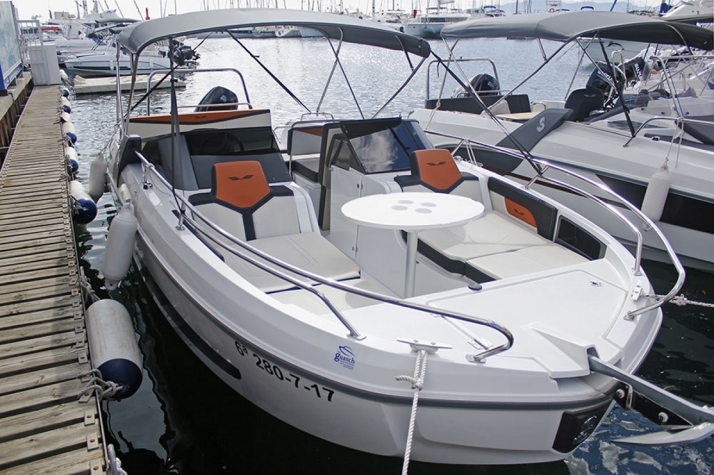 Rental yacht Torroella de Montgrí - Bénéteau Flyer 7.7 Spoertdeck on SamBoat