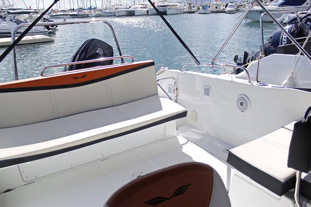 Boat rental Torroella de Montgrí cheap Flyer 7.7 Spoertdeck