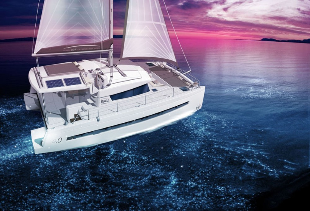 Hire Catamaran with or without skipper Bali Catamarans Le Marin