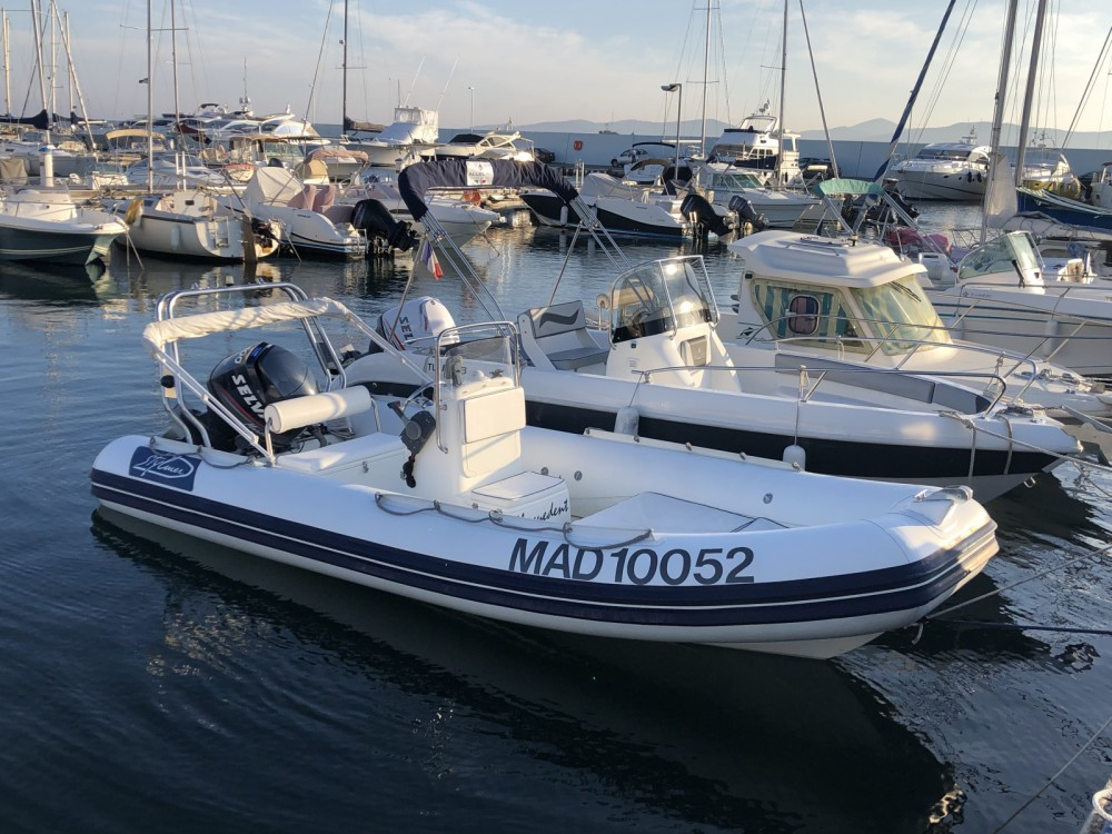 Hire RIB with or without skipper Stylmer Fréjus