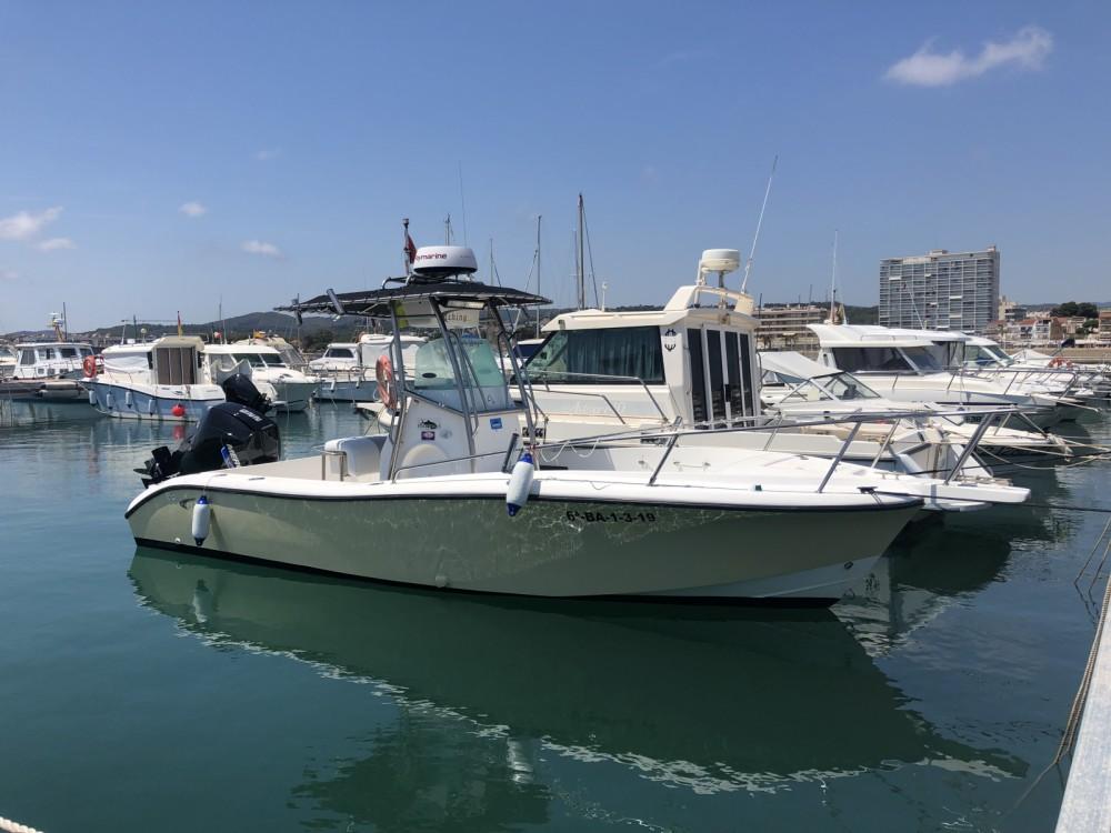 Rental yacht  - Fishing Raptor 240 on SamBoat