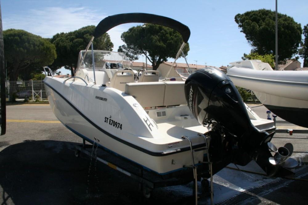 Boat rental Quicksilver Quicksilver 675 Open Activ in Castelló d'Empúries on Samboat