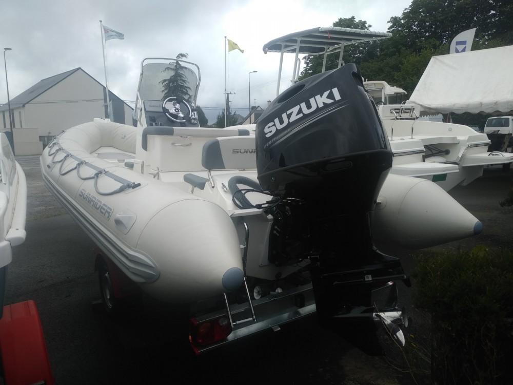 Boat rental Pornic cheap Sunrider 650 Gris