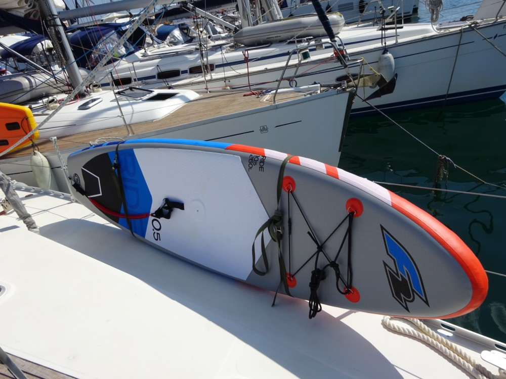 Rental Sailboat Dromor with a permit