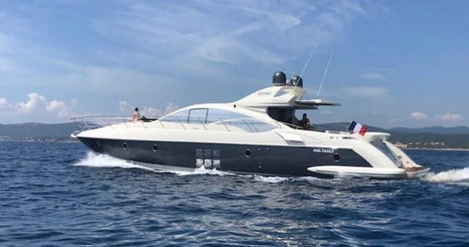 Azimut 68S between personal and professional Fréjus