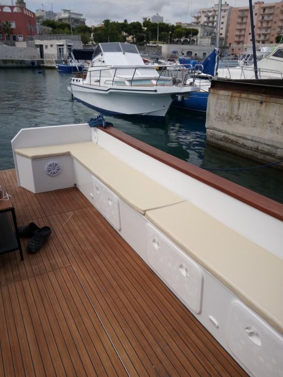 Boat rental Monopoli cheap Poppa quadra