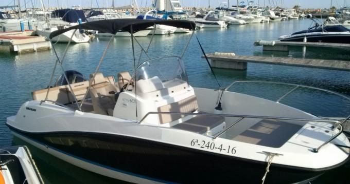 Rental Motorboat in L'Estaque - Quicksilver Activ 605 Open