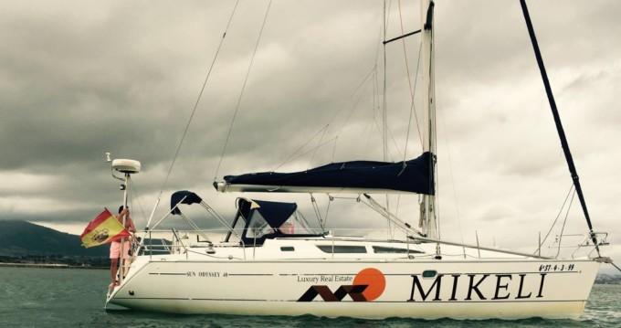 Boat rental Santander cheap Sun odyssey
