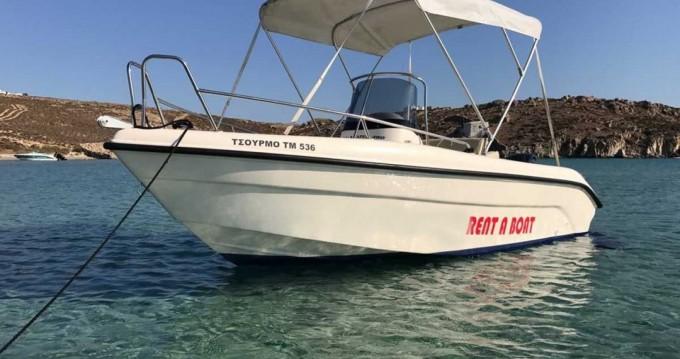 Boat rental Mykonos (Island) cheap Blu Water