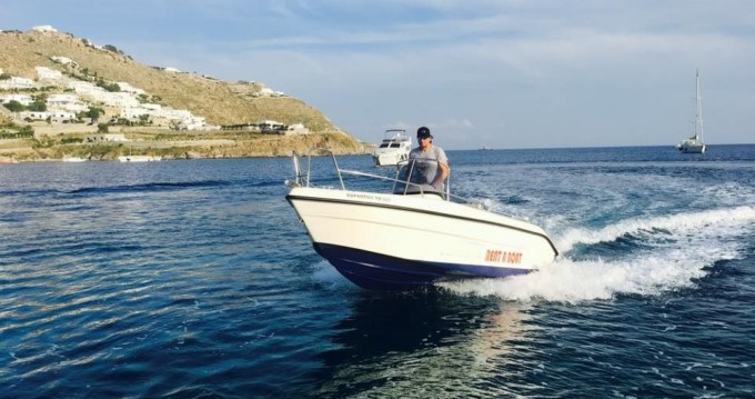 Motorboat for rent Mykonos (Island) at the best price