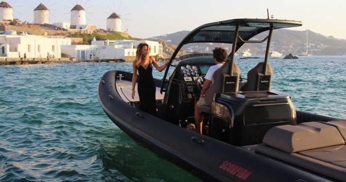 Boat rental Mykonos (Island) cheap Scorpion