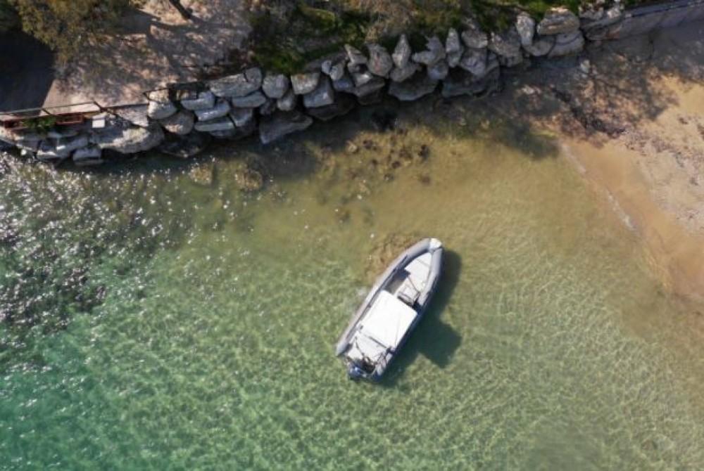 Rib BWA between personal and professional Marathos Island