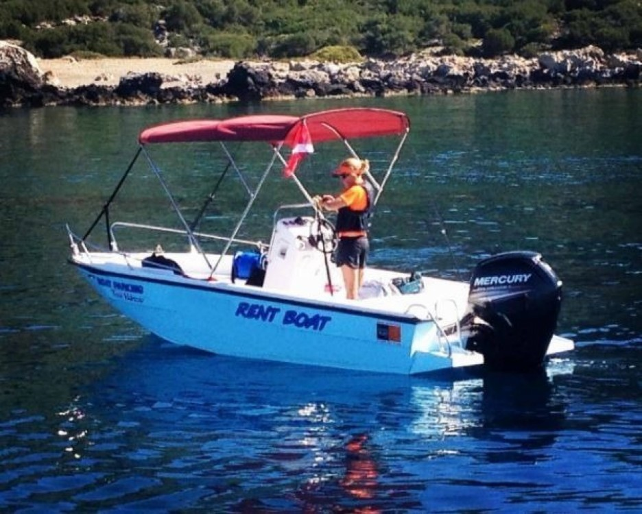 Rental Motorboat Mare with a permit