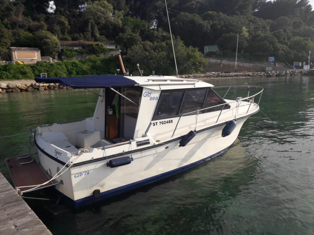 Boat rental Cannes cheap Gib 74