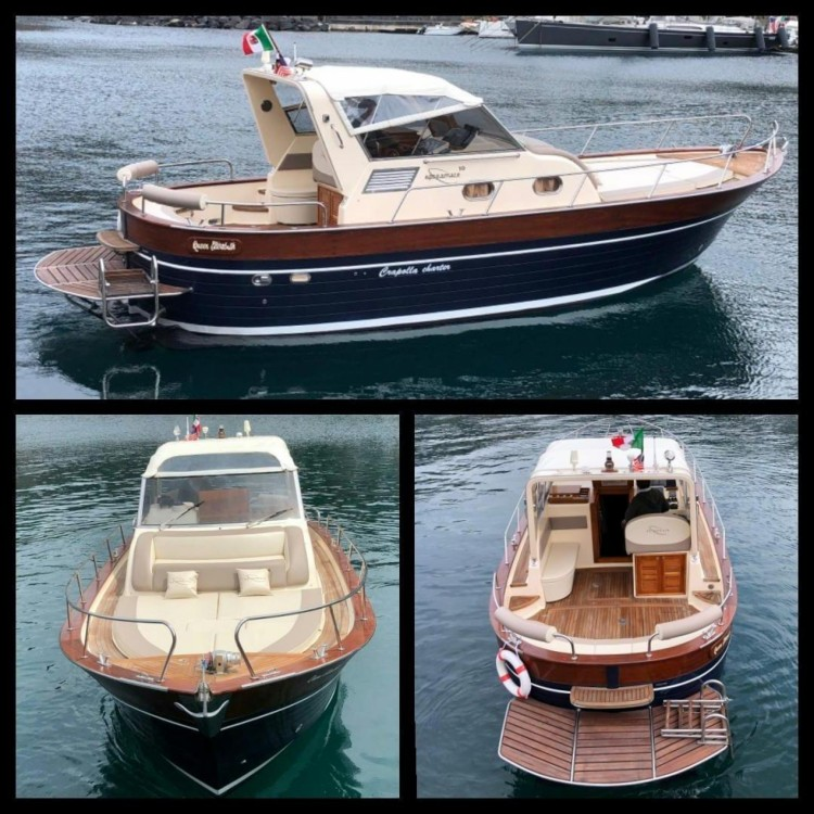 Motorboat for rent Positano at the best price