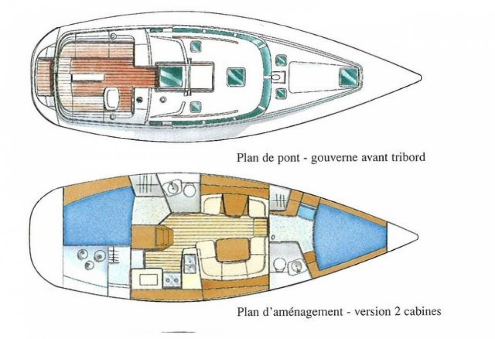 Jeanneau Sun Odyssey 40 DS between personal and professional Vigo